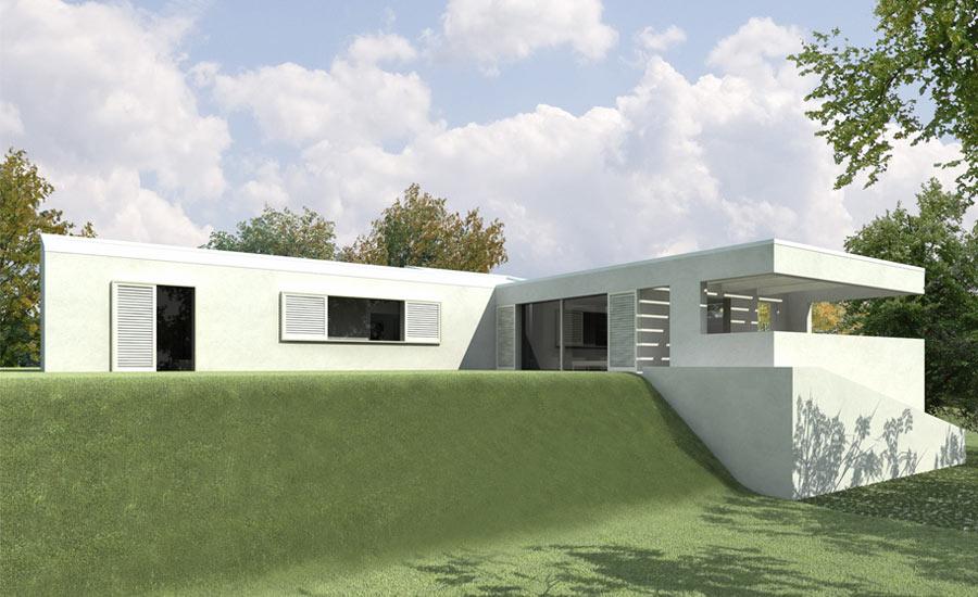 Luca doveri architetto for A forma di casa con piano piano unico